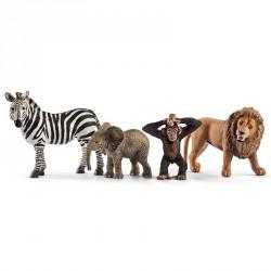 Vilde dyr 4-pak