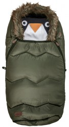 Voksi Urban - Fur Olive Green Sove- og kørepose
