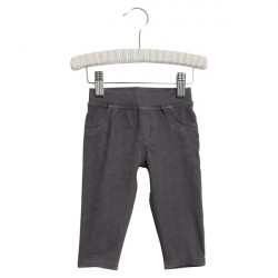 Wheat Dark Denim Baby Jeggings