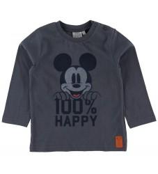 Wheat Disney Bluse - Mickey - Greyblue
