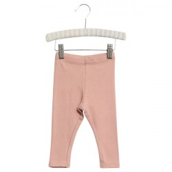 Wheat Misty Rose Baby Rib Leggings