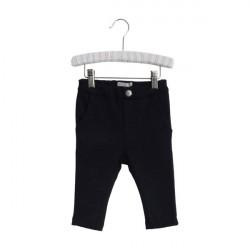 Wheat Navy Baby Sweatpants