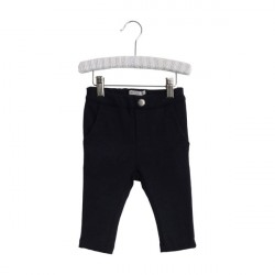 Wheat Navy Baby Sweatpants