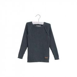 Wheat Strik - SJulius Pullover - Grey