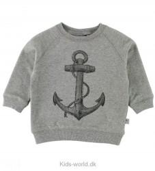 Wheat Sweatshirt - Anchor - Gråmeleret