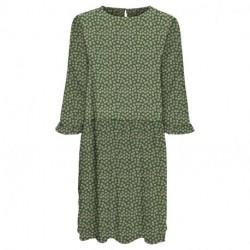 Willow Bough VMSIMONE O-NECK 3/4 SHORT DRESS 10247433 fra Vero Moda