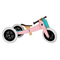 Wishbone Løbecykel 3 i 1 Pink