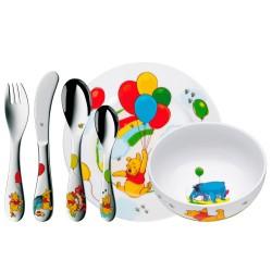 WMF spisesæt til børn - Peter Plys