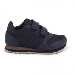 Woden Kids Miro Nylon Sneaker - Black