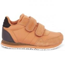 Woden Kids Nor Sneakers - Peach
