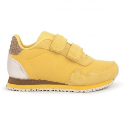 Woden Kids Nora Sneakers - Super Lemon
