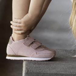 Woden Kids Sandra Pearl Sneaker - Blush