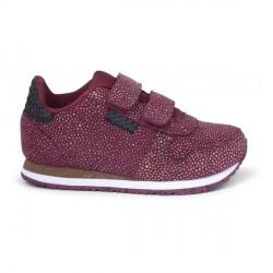 Woden Kids Sandra Pearl Sneaker - Cabernet