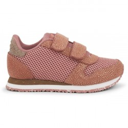 Woden Kids Sandra Pearl Sneakers - Canyon Rose