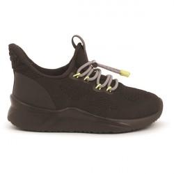 Woden Kids Vilde Knit Sneakers - Black