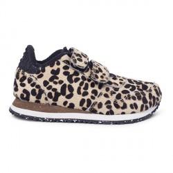 Woden Kids Ydun Sneaker - Leopard