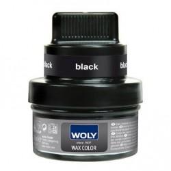 Woly shoe cream - wax color, sort