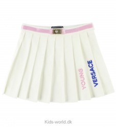 Young Versace Nederdel - Creme/Rosa