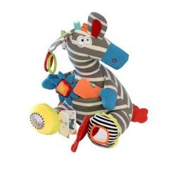 Zebra aktivitetsbamse fra Dolce
