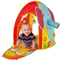 Zebra Sensorisk telt med bolde og legetøj