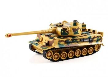 ZEGAN German King Tiger 1 Fjernstyret IR Battle Tank 1:28, 40Mhz (99808)