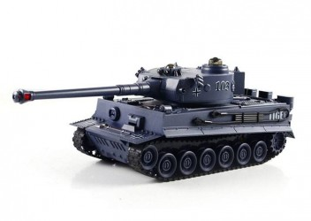 ZEGAN German Tiger Fjernstyret IR Battle Tank 1:28, 2.4G (99807)