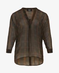 ZOEY Sussie langærmet skjorte