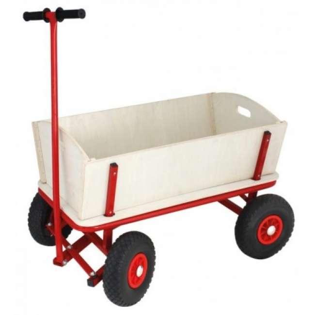 Priser på Family Trækvogn 2 personer PUNKTERFRI Gummihjul