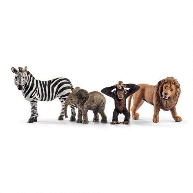 Priser på Schleich Gaveæske Vilde dyr Startsæt 42387